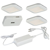 Vaxcel X0029 North Avenue 120V LED 3 inch White Under Cabinet