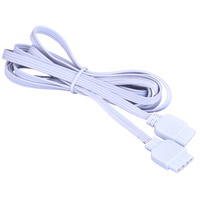 Vaxcel X0105 Signature 1 inch White Under Cabinet Linking Cable
