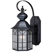 Vaxcel T0244 Tudor 1 Light 15 inch Dark Bronze Outdoor Wall Light