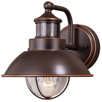 Vaxcel T0252 Harwich 1 Light 9 inch Burnished Bronze Outdoor Wall Light