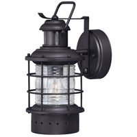 Textured Black Hyannis Outdoor Wall Lights