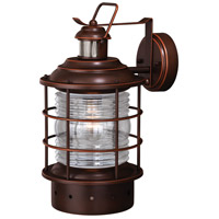 Vaxcel T0257 Hyannis 1 Light 16 inch Burnished Bronze Outdoor Wall Light