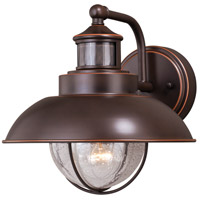 Vaxcel T0263 Harwich 1 Light 10 inch Burnished Bronze Outdoor Wall Light photo thumbnail