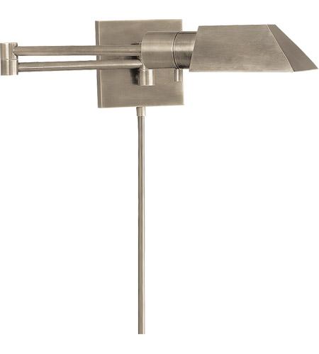 Visual Comfort 82034an Studio 24 Inch 40 Watt Antique Nickel Swing Arm Wall Sconce Light