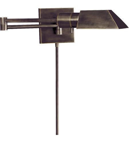 low cost f53b7 3eea1 Visual Comfort 82034BZ Studio 24 inch 40 watt Bronze Swing-Arm Wall Light
