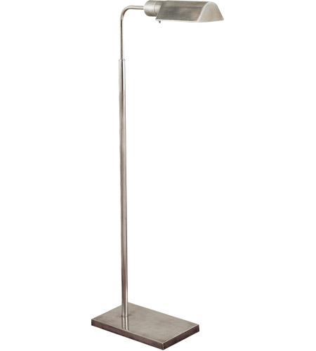 Visual Comfort 91025AN Studio 34 inch 60 watt Antique Nickel Task Floor Lamp Portable Light photo