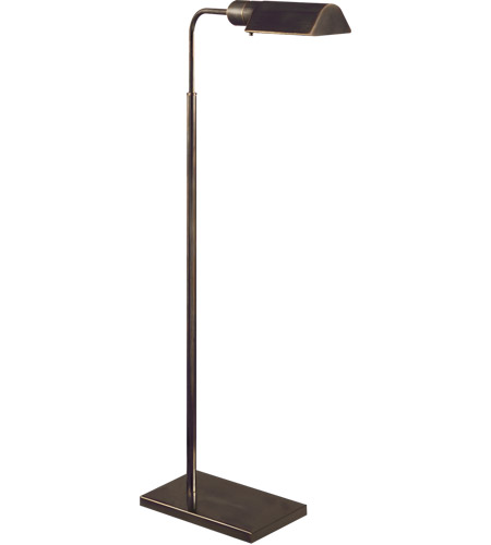 studio 34 inch 60 watt bronze task floor lamp portable light photo