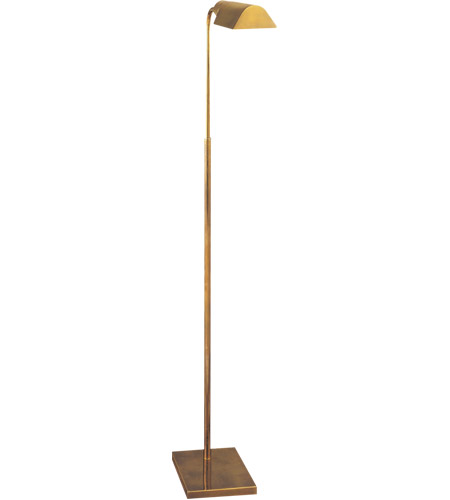 Visual comfort 91025hab studio classic 34 inch 60 watt hand rubbed visual comfort 91025hab studio classic 34 inch 60 watt hand rubbed antique brass task floor lamp portable light shade is 35 by 6 by 2 mozeypictures Image collections