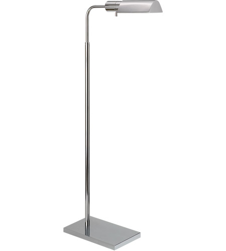 Visual comfort 91025pn studio classic 34 inch 60 watt polished visual comfort 91025pn studio classic 34 inch 60 watt polished nickel task floor lamp portable light mozeypictures Image collections