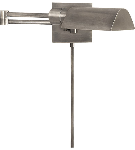 Visual Comfort 92025AN Studio 25 inch 60 watt Antique Nickel Swing-Arm Wall Light photo