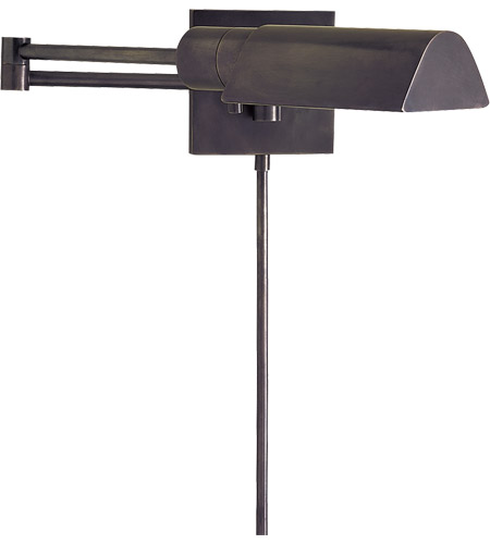 Visual Comfort Studio 1 Light Swing-Arm Wall Light in Bronze 92025BZ photo
