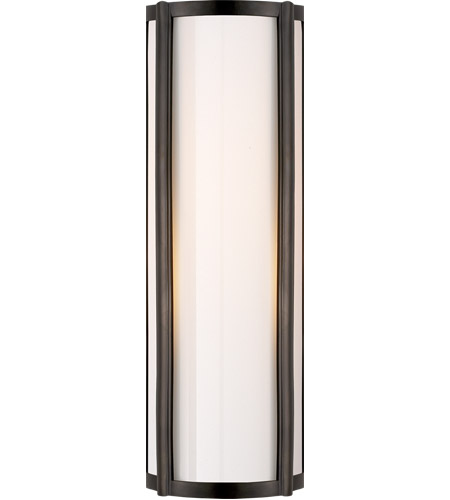 Visual Comfort AH2023GM-WG Alexa Hampton Basil 1 Light 6 inch Gun Metal Bath Wall Light photo