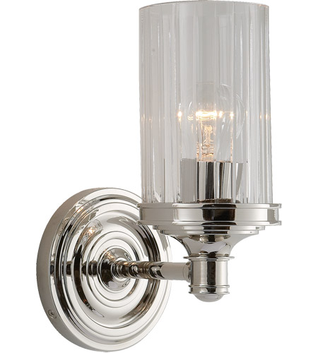 Visual Comfort AH2200PN-CG Alexa Hampton Ava 1 Light 5 inch Polished Nickel Bath Wall Light photo
