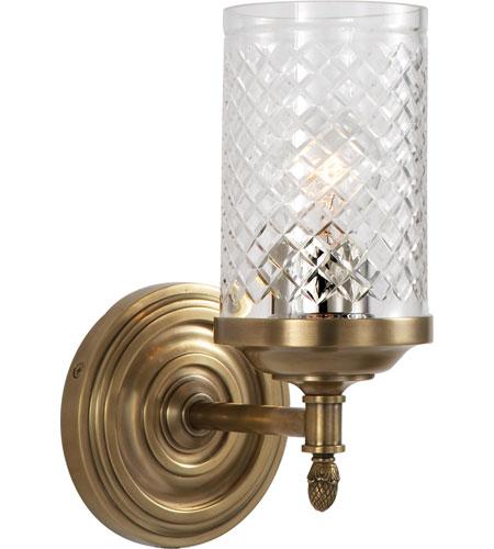 Visual Comfort Ah2201hab Cg Alexa Hampton Lita 1 Light 5 Inch Hand Rubbed Antique Brass Bath