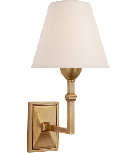 Visual Comfort AH2305HAB-NP Alexa Hampton Jane 1 Light 7 inch Hand-Rubbed Antique Brass Decorative Wall Light photo