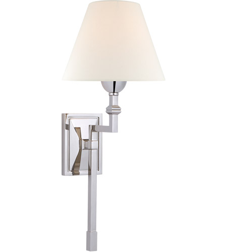 Visual Comfort AH2310PN-L Alexa Hampton Jane 1 Light 8 inch Polished Nickel Single Tail Sconce Wall Light, Medium photo