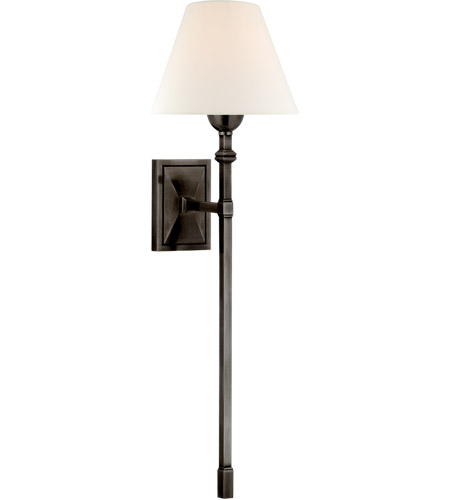 Visual Comfort AH2315GM-L Alexa Hampton Jane 1 Light 8 inch Gun Metal Single Tail Sconce Wall Light, Large photo