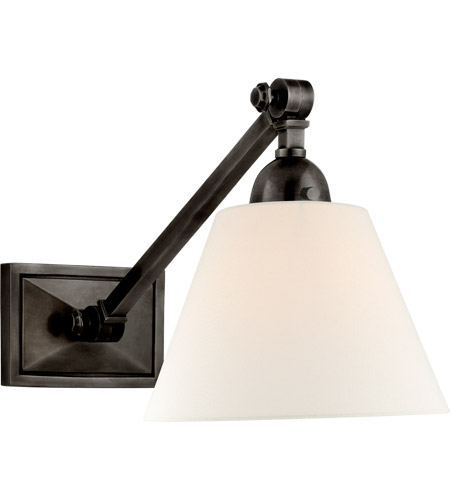 Visual Comfort AH2325GM-L Alexa Hampton Jane 1 Light 8 inch Gun Metal Single Library Wall Light photo