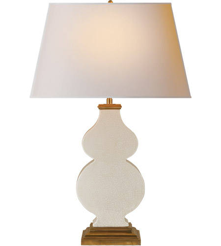 Visual Comfort AH3063TS-NP Alexa Hampton Anita 29 inch 150 watt Tea Stain Porcelain Decorative Table Lamp Portable Light photo