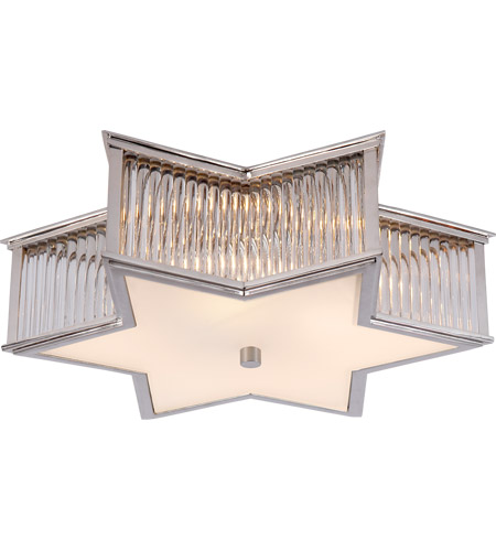 Visual comfort ah4017pncg fg alexa hampton sophia 3 light 17 inch visual comfort ah4017pncg fg alexa hampton sophia 3 light 17 inch polished nickel with clear glass flush mount ceiling light aloadofball Gallery