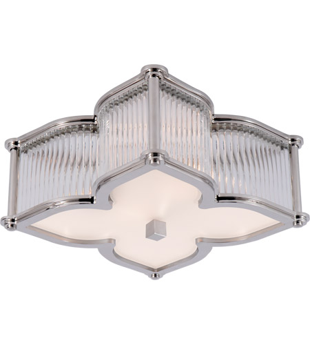 Visual comfort ah4018pncg fg alexa hampton lana 2 light 15 inch visual comfort ah4018pncg fg alexa hampton lana 2 light 15 inch polished nickel with clear glass flush mount ceiling light aloadofball Gallery