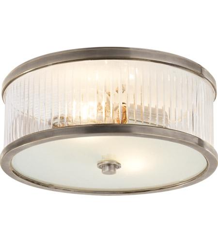 Visual Comfort Ah4201an Fg Alexa Hampton Randolph 2 Light 14 Inch Antique Nickel Flush Mount Ceiling