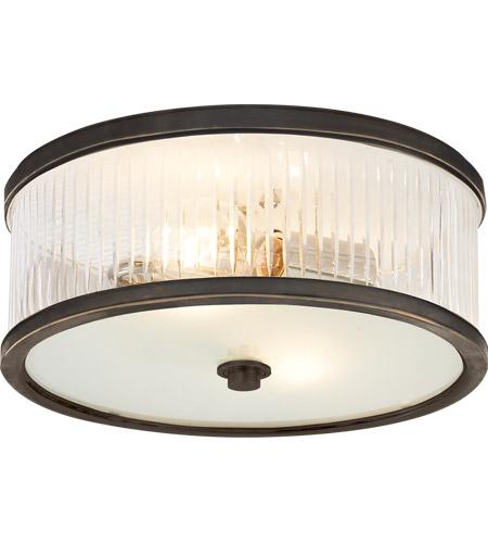 Visual Comfort Ah4201bz Fg Alexa Hampton Randolph 2 Light 14 Inch Bronze Flush Mount Ceiling