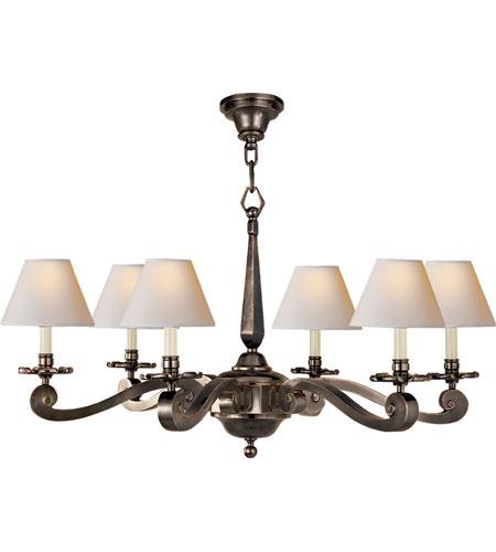 Visual Comfort Ah5010gm Np Alexa Hampton Myrna 6 Light 33