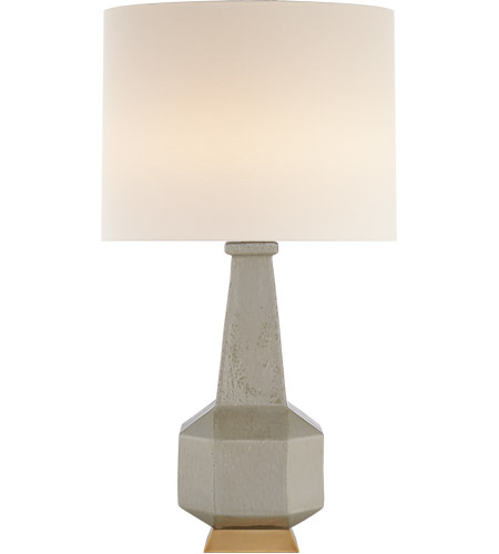 Visual Comfort Arn3623shg L Aerin Babette 30 Inch 60 00 Watt Shellish Gray Table Lamp Portable Light