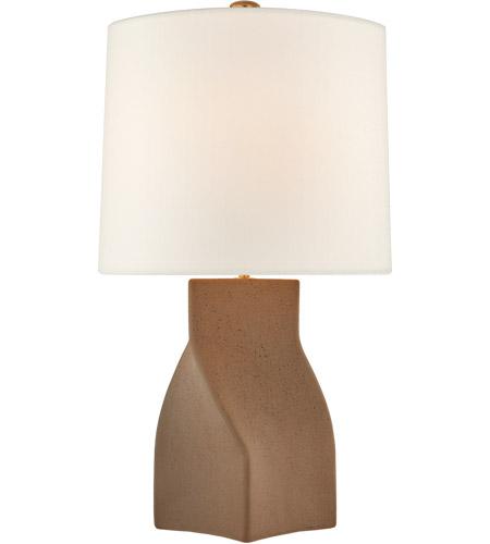 Visual Comfort Arn3635cnb L Aerin Claribel 31 Inch 100 00 Watt Canyon Brown Table Lamp Portable Light Large