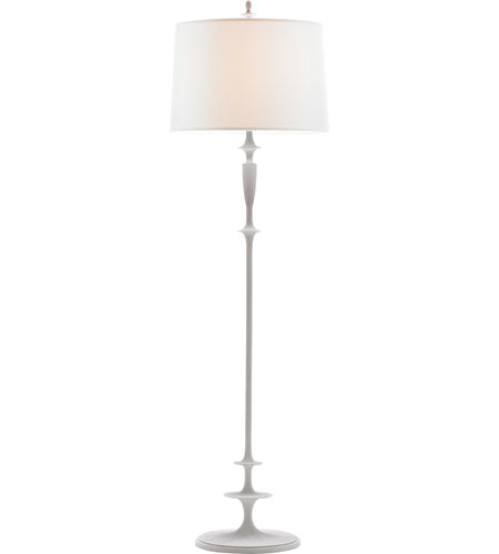 Visual comfort bbl1002wht s barbara barry lotus 69 inch for Barbara barry floor lamp