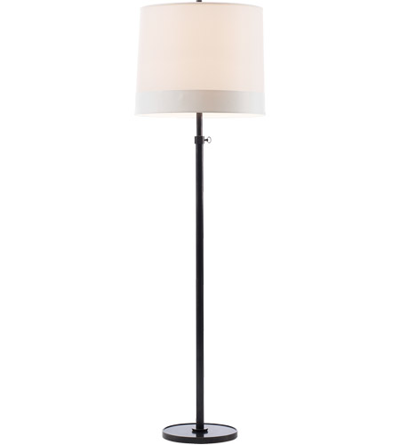 Visual Comfort Bbl1023bz S2 Barbara Barry Simple 63 Inch 150 Watt Bronze Decorative Floor Lamp Portable Light In Silk