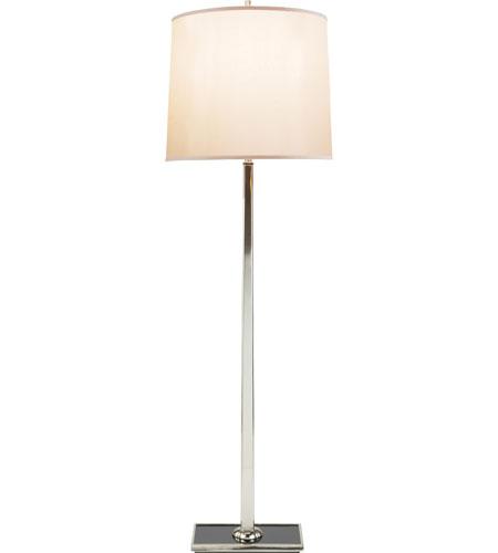 Visual comfort bbl1025ss s barbara barry petal 58 inch 150 for 150 watt floor lamp