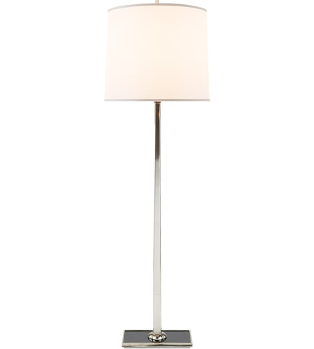 Visual Comfort Bbl1025ss S Barbara Barry Petal 58 Inch 150 Watt Soft Silver Decorative Floor Lamp Portable Light
