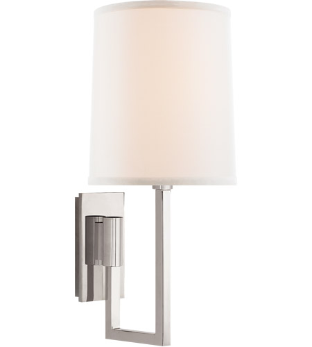 Visual Comfort BBL2027PN-L Barbara Barry Aspect 1 Light 6 inch Polished Nickel Decorative Wall Light photo