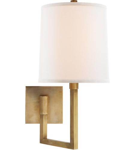 Visual Comfort Bbl2028sb L Barbara Barry Aspect 11 Inch 75 Watt Soft Br Swing Arm Wall Light