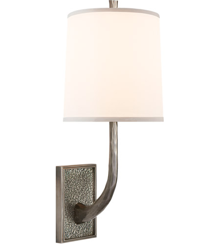 Visual Comfort BBL2030PWT-S Barbara Barry Lyric Branch 1 Light 8 inch Pewter Finish Decorative Wall Light photo