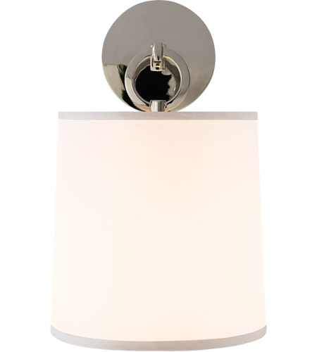 Visual Comfort BBL2035PN-S Barbara Barry French Cuff 1 Light 8 inch Polished Nickel Decorative Wall Light photo