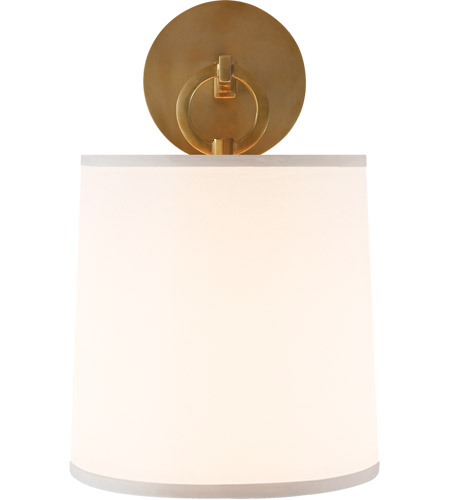 Visual Comfort BBL2035SB-S Barbara Barry French Cuff 1 Light 8 inch Soft Brass Decorative Wall Light photo