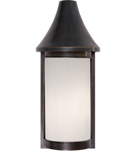 Visual Comfort BBL2062BZ-FG Barbara Barry Normandy 1 Light 21 inch Bronze Outdoor Wall Lantern photo