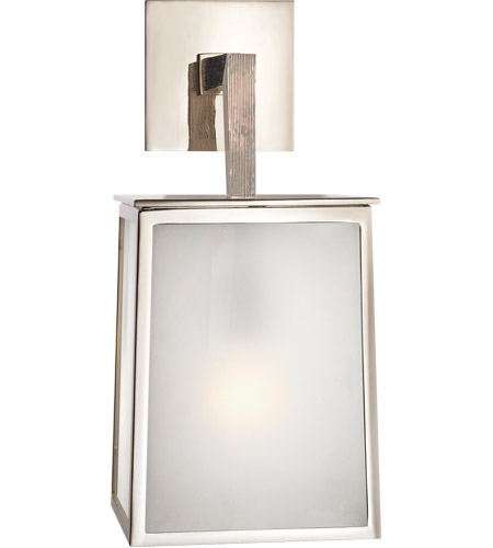 Visual Comfort BBL2072PN-FG Barbara Barry Ojai 1 Light 18 inch Polished Nickel Outdoor Wall photo