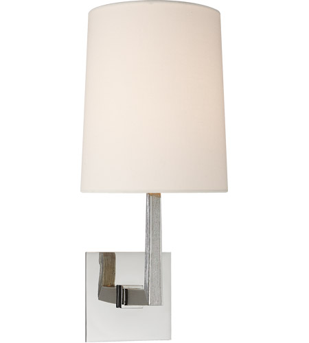 Visual Comfort BBL2082PN-L Barbara Barry Ojai 1 Light 7 inch Polished Nickel Sconce Wall Light, Medium photo