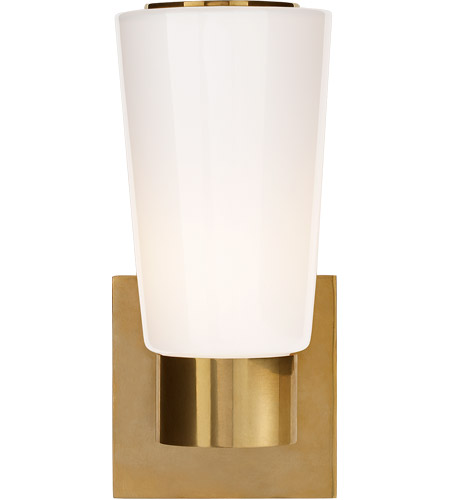 Visual Comfort BBL2105SB-WG Barbara Barry Acme 1 Light 4 inch Soft Brass Decorative Wall Light photo