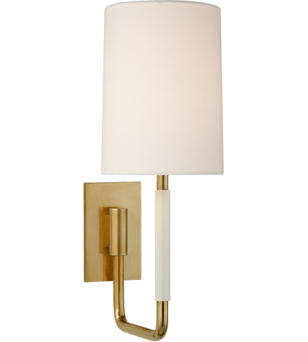 Visual Comfort BBL2132SB-L Barbara Barry Clout 1 Light 5 inch Soft Brass Wall Sconce Wall Light Small  sc 1 st  Visual Comfort & Visual Comfort BBL2132SB-L Barbara Barry Clout 1 Light 5 inch Soft ...