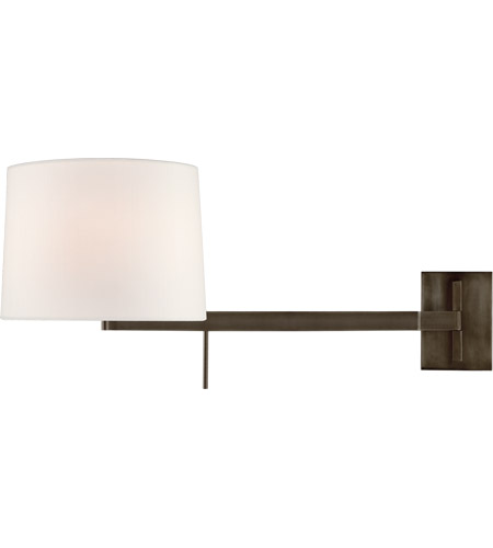 Visual Comfort BBL2164BZ-L Barbara Barry Sweep 1 Light 12 inch Bronze Articulating Wall Sconce Wall Light, Medium Right photo