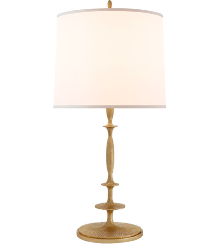 Visual Comfort Bbl3003g S Barbara Barry Lotus 33 Inch 150 00 Watt Gilded Finish Decorative Table Lamp Portable Light