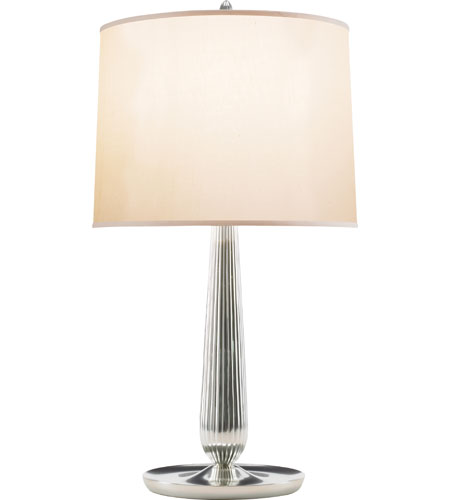 Beautiful Visual Comfort BBL3013SS S Barbara Barry Coupe 31 Inch 150 Watt Soft Silver  Decorative Table