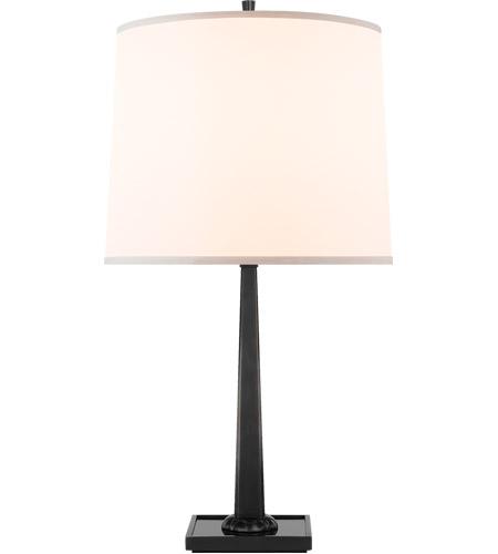 Visual Comfort Bbl3024bz S Barbara Barry Petal 26 Inch 150 00 Watt Bronze Decorative Table Lamp Portable Light