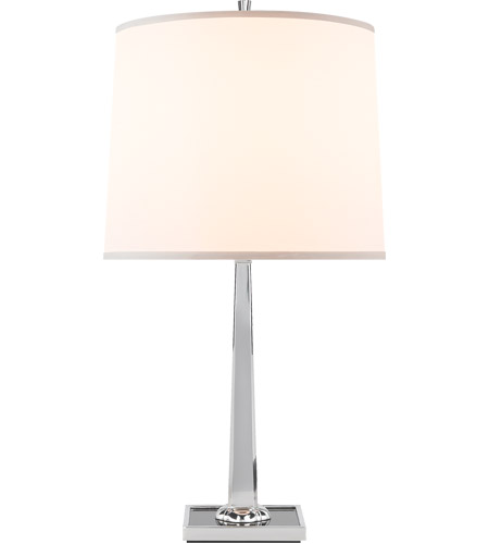Visual Comfort BBL3024SS-S Barbara Barry Petal 26 inch 150 watt Soft Silver Decorative Table Lamp Portable Light photo
