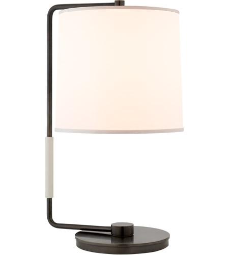 Visual Comfort BBL3070BZ S Barbara Barry Swing 21 Inch 75 Watt Bronze Table  Lamp Portable